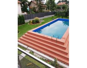 Луксозни дървени басейни