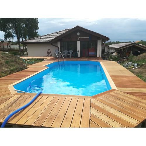 Сглобяем дървен басейн по размер ЕЛЕА